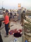 """צומת אלון שבות - זירת הרצח שבה נרצחה דליה למקוס הי""""ד"""