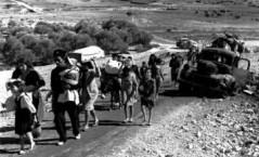 לא ילידים אלא ממסתננים. מהגרי עבודה ערבים בורחים בזמן מלחמת העצמאות (1948).