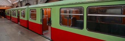 הרכבת התחתית של ברלין. הנסיעה לא מומלצת אם אתם יהודים