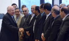 רוצה עיר ערבית נוספת בארץ ישראל (ריבלין בפגישה עם ראשי הרשויות הערביות)