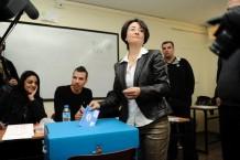 64 אחוזי הצבעה הספיקו כדי להיות המפלגה השלישית בגודלה (חנין זועבי מצביעה)