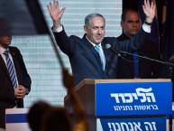מעבר של מצביעים מהבית היהודי לליכוד הכריע את המערכה (נתניהו בנאום הנצחון אמש)