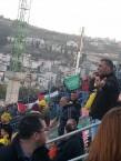 יציע אוהדי נצרת: דגלים של ארגוני טרור מונפים באין מפריע