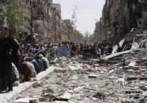 """עדויות על הרס וטבח המוני: מחנה ה""""פליטים"""" שנכבש על ידי דאעש"""