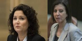 גלאון (מימין) ורוזן: חשש כבד בקרב השמאל מריסון החונטה המשפטית השמאלנית