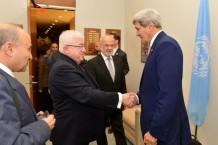 הסטוריה של נטישת בעלי ברית (מזכיר המדינה ג'ון קרי בפגישה עם נשיא עיראק פואד מעצום)