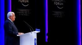 """קיומה של ישראל מפריע ל""""שלום"""" (עבאס בזמן נאומו בועידה)"""