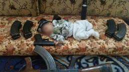 תינוק יהודי בסוריה? (בנו של מחמיד כפי שצולם על ידו)