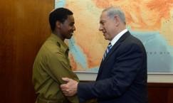 צעד חשוב אך לא מספיק (ראש הממשלה נתניהו נפגש עם החייל שהותקף)