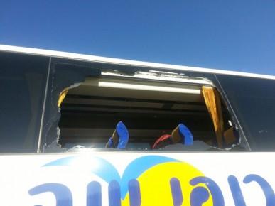 טעות בזיהוי (האוטובוס שנרגם באבנים היום סמוך לחברון)
