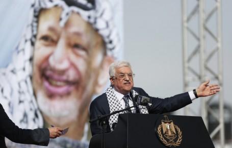 הייאוש מאי היכולת להשמיד את ישראל גורם לערבים להתפרע (מחמוד עבאס נואם בכנס)