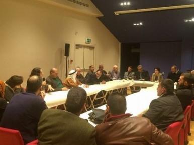 תיעוד פגישתם של חברי הכנסת הערבים עם משפחות המחבלים