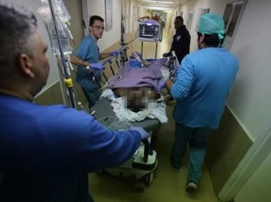 שהה במתקן השהייה לפולשים אך משום מה שוחרר (הפולש המוסלמי שניסה לרצוח חייל מקבל טיפול בבית החולים)