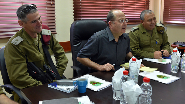 Yair Golan who compares Nazi Germany and Israel with Moshe Yaalon1 - Copy