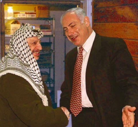 Netanyahu Arafat